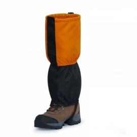 1 Pair Wind Tour Windproof Waterproof Ski Snow Shoes Covers Orange & Black