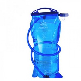 AONIJIE Outdoor Sports Cycling Running Water Bag Folding Hydration Pack 2L Blue