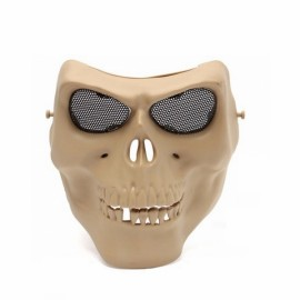 Tactical Skull Skeleton Full Face Security Mask War Game Hunting Costume Party Mud