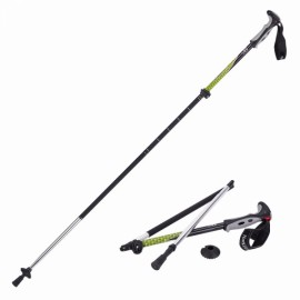 Naturehike 4 Section Trekking Pole Folding Walking Stick Camping Ultralight Aluminium Alpenstock Green