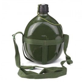 2.5L Cycling Water Bottle Outdoor Camping Hiking Kettle Army Green