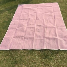 200x150CM Camping Pinic Pocket Mat Outdoor Summer Beach Sand-Free Folding Pad-Pink