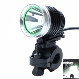 ZHISHUNJIA 360-USB035 U2 880LM 1-LED 6-Mode 360 Degree Rotating USB Powered Cool White Bicycle Light Black & Silver