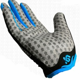 CoolChange MTB Outdoor Touch Screen Full Finger Unisex Cycling Gloves Black & Yellow XL
