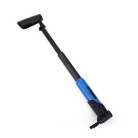 DUUTI Mini Foldable Portable Bike Tire Pump Outdoor Sports Bicycle Accessories Inflator Air Pump Blue