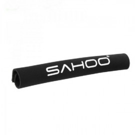 SAHOO Soft Fabric Bike Bicycle Chainstay Protector Velcro Sticker Black