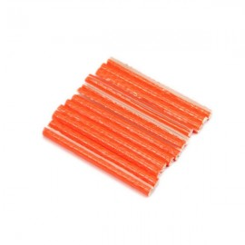 12pcs Bicycle Wheel Spoke Reflector Reflective Mount Clip Tubes Set Orange