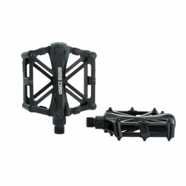 BaseCamp MTB Bicycle Pedal Road Bike Slip-resistant Ultra-light Aluminum Alloy Ball Bearing Black