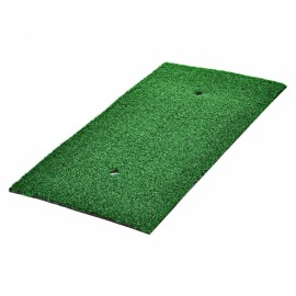 TOURLOGIC Dedicated Rubber & PVC Golf Turf Training Carpet Grass Green