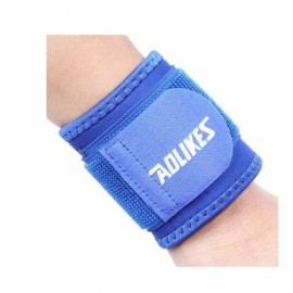 AOLIKES A-7936 Sports Safety Wrist Bracer Support Guard Blue