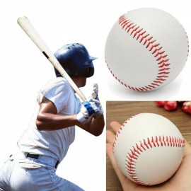 9 Inch Base Ball Practice Training Softball Hand Sewing Sport Team Game Red & White