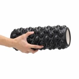 1pc EVA Yoga Foam Roller Black
