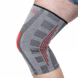 Naturehike Sport Seamless Kneepad Gym Knee Support Basketball Running Protector Shinguard Gray Size XL