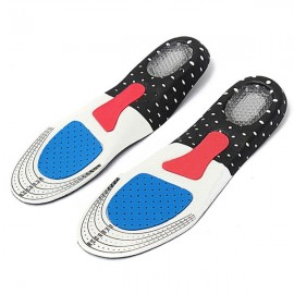 1 Pair Multi-functional EVA & Gel Orthotic Soft Cushion Unisex Insoles Size 35-40