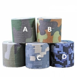 5cm*5m Adhesive Tape Cloth Tape Tool for Electrical Pipeline Camera Car Bicycle Decor Outdoor Decoration Sea Camouflage