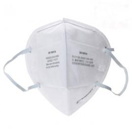 3M 9001A Ear Belt Type Non-toxic Folding Respirator Pm2.5 Dust Mask KN90 Standard White