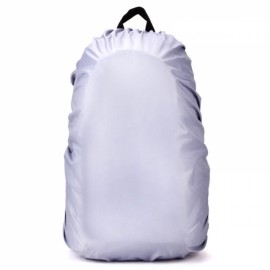 Outdoors 30L-40L Backpack Cover Luggage Dustproof Waterproof Protector Silver