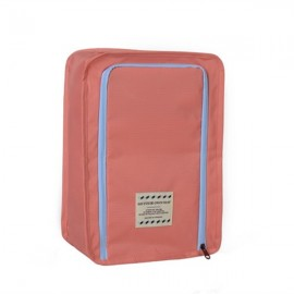 Multifunctional Travel Wash Cosmetic Makeup Bag Shoes Storage Bag Pink
