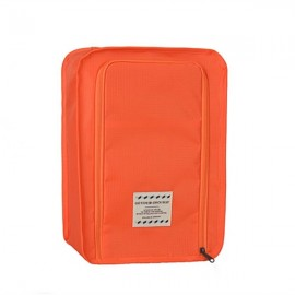 Multifunctional Travel Wash Cosmetic Makeup Bag Shoes Storage Bag Orange