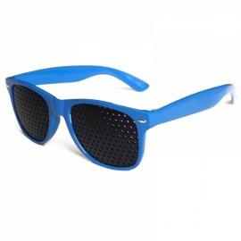 Eye Care Pinhole Eyes Exercise Glasses Vision Improve Eyewear Blue