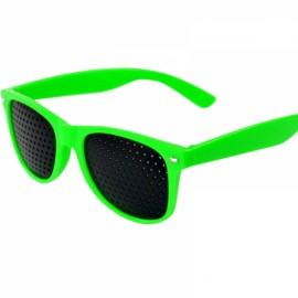 Eye Care Pinhole Eyes Exercise Glasses Vision Improve Eyewear Green