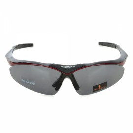 Free Soldier ZYB0091d TR90 Frame PC Lens UV400 Outdoor Sports Polarized Sunglasses Red & Black