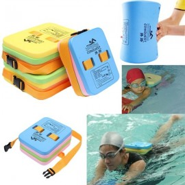 Swimming Adjustable Back Float Training Kickboard for Adult & Child Random Color L