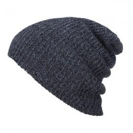 Unisex Baggy Beanie Oversize Winter Warm Crochet Knitted Cap Black