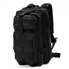 30L Outdoor Military Tactical Camping Hiking Trekking Backpack Rucksack Black