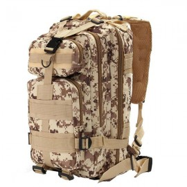 30L Outdoor Military Tactical Camping Hiking Trekking Backpack Rucksack Desert Digital