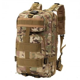 30L Outdoor Military Tactical Camping Hiking Trekking Backpack Rucksack CP Camouflage