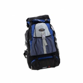 Unisex Outdoor Large Capacity Nylon Backpack Bag for Camping Hiking Climbing Travelling Blue