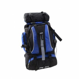 Fashion Outdoor Large Capacity Nylon Backpack Bag for Camping Hiking Climbing Travelling Blue