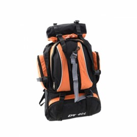 Fashion Outdoor Large Capacity Nylon Backpack Bag for Camping Hiking Climbing Travelling Orange
