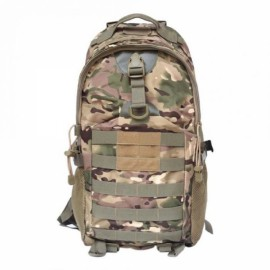 35L Outdoor Camping Hiking Waterproof Shoulder Bag Tactical Rucksack Camouflage Backpack CP