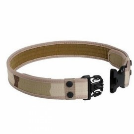 Outdoor Nylon Adjustable Military Tactical Belt - Desert