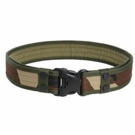 Outdoor Nylon Adjustable Military Tactical Belt - Jungle