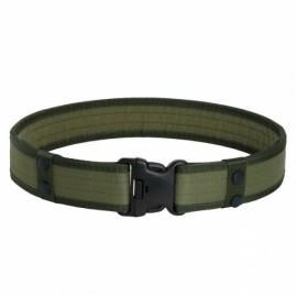 Outdoor Nylon Adjustable Military Tactical Belt - Army Green
