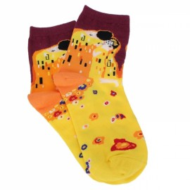Creative Cotton Abstractionism Painting Art Socks Hosiery Stocking - #04