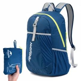 NatureHike Folding Backpacks Outdoor Ultralight Portable Hiking Travel Waterproof Backpack Navy Blue