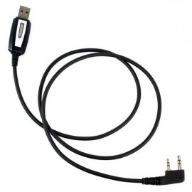 2pin USB Programming Cable for Baofeng Walkie Talkie