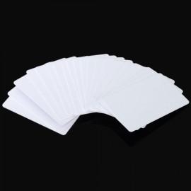 20pcs Writable Readable 125KHz ID Cards Copy Cards for Copier Access Control White