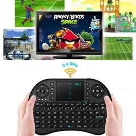 Rii i8 Classic Mini Wireless Keyboard Touchpad Black