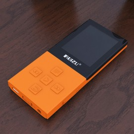 RUIZU X18 8GB High Quality Lossless Recorder FM Wireless Bluetooth 4.0 Sport MP3 Player Orange