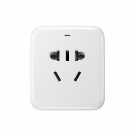 MI-Wi-Fi 2200W Wireless Remote Control Smart Plug Socket with USB White