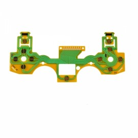 CHEERLINK Handle Film Flex Cable for PS4 Controller Black & Yellow & Multicolored