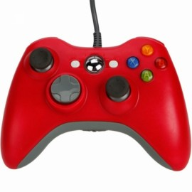 Wired Game Controller for Xbox 360 / PC Red