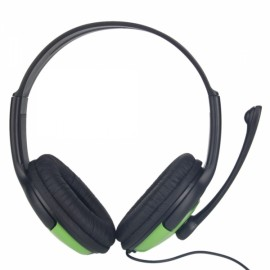 Two-sided Big Headphones for Xbox 360 Black + Green
