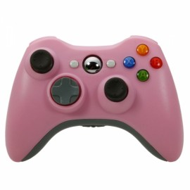 ABS Wireless Game Controller for Xbox 360 / PC Pink