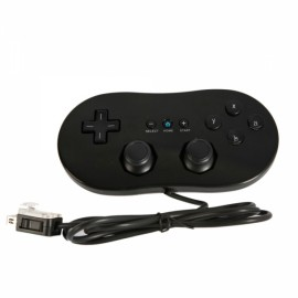 Classic Game Controller for Nintendo Wii / Wii U Black